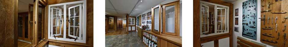 Browns Joinery windows and door showroom
