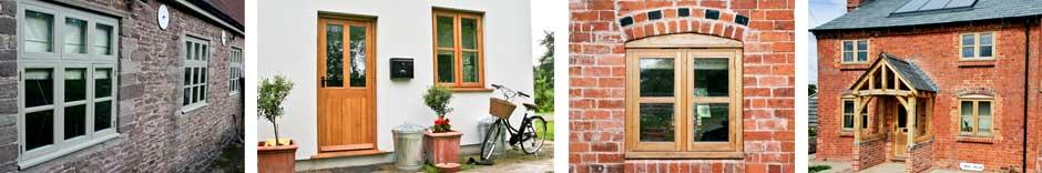 oak windows and accoya windows painted