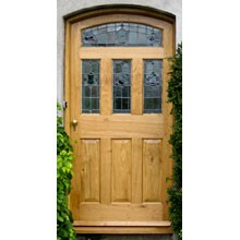BR16 Triple Pane Arched Head Door and Frame
