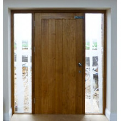 BR19 Solid Back to Back Insulated Doors and Frames with sidelights