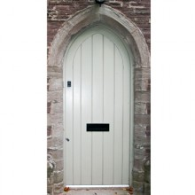 Painted Arched Door