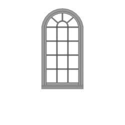 W1 Arch Window