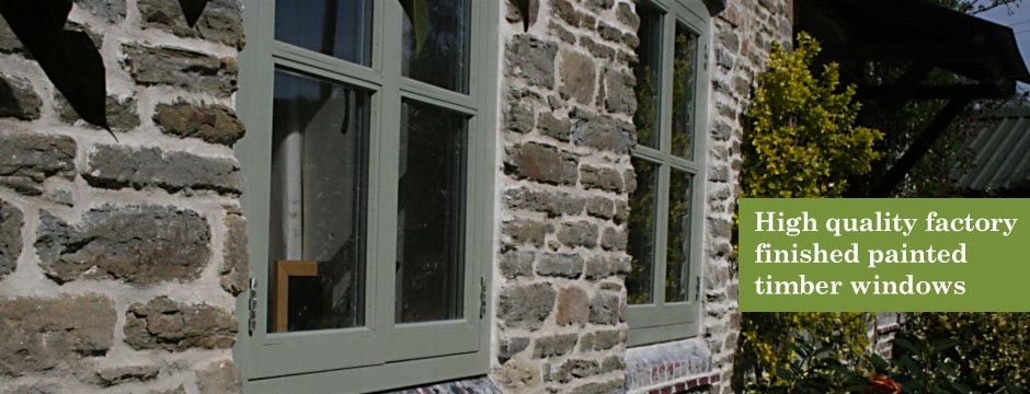 Browns Joinery Painted Timber Doors and Windows