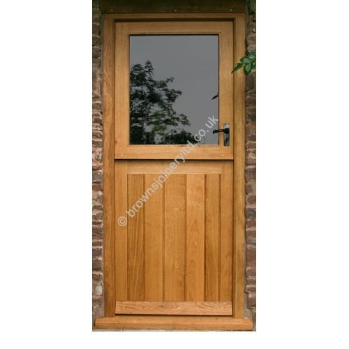 Browns Joinery 187 Br04 Stable Door With Frame