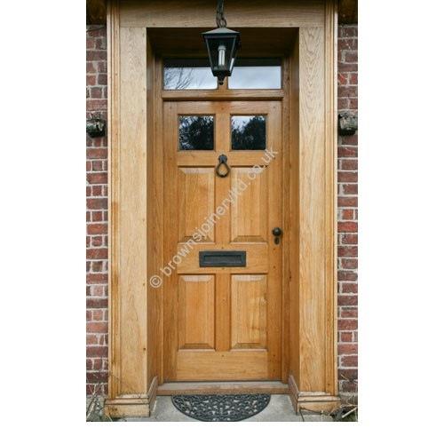 br18 glazed panel door and frame